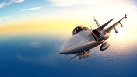 fighter jet: fighter