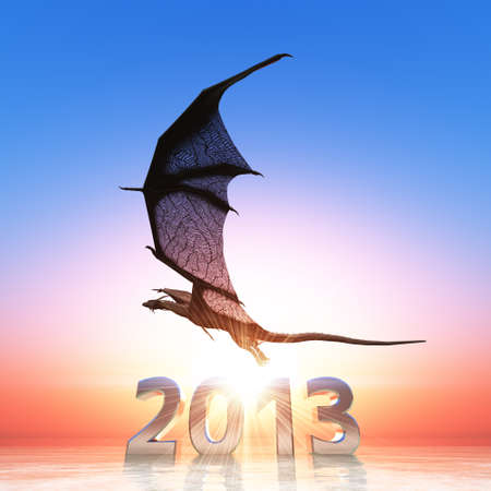 2013 and dragon photo