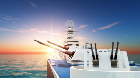 aegis-equipped destroyer Stock Photo - 16923145