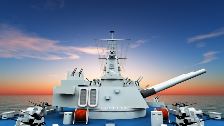 aegis-equipped destroyer Stock Photo - 16923147