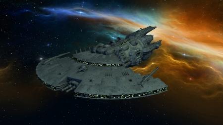 sf: Space ship