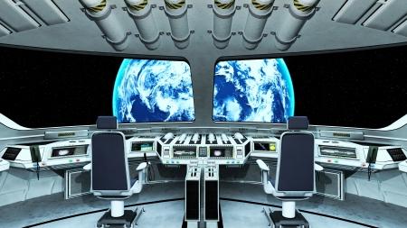 Vaisseau spatial Banque d'images