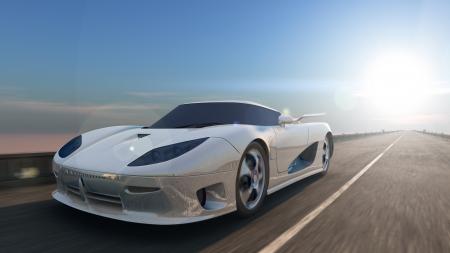 sports car Standard-Bild