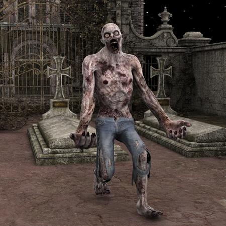 zombie Stock Photo - 20709774