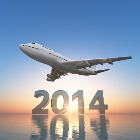 2014 と飛行機