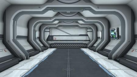 spaceship gate Фото со стока