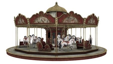merry-go-round  版權商用圖片