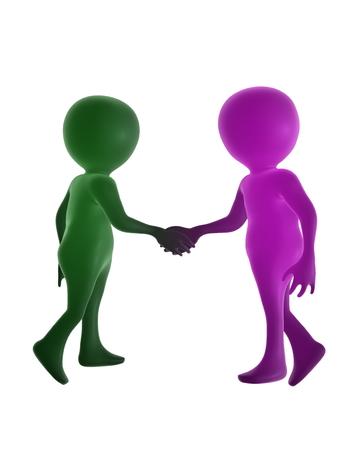 握手する人たち 写真素材 - 24881020