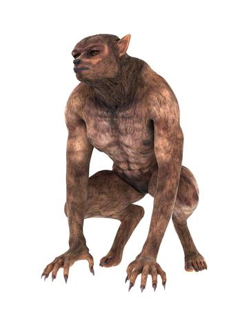 wilkołak: potwór Zdjęcie Seryjne