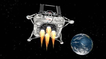zero gravity: mezzo da sbarco