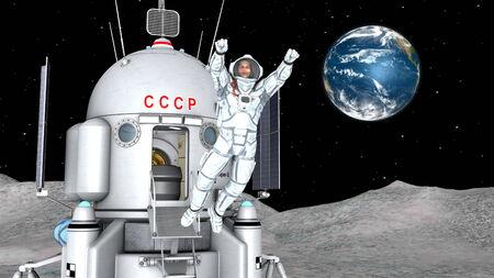 zero gravity: astronauta Archivio Fotografico