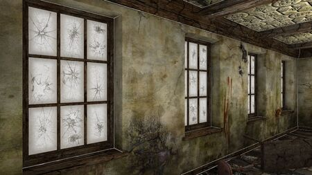 dilapidation: ruins