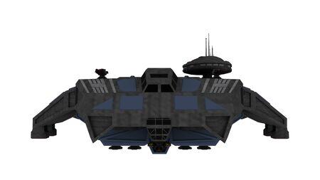 宇宙船の 3d 写真素材