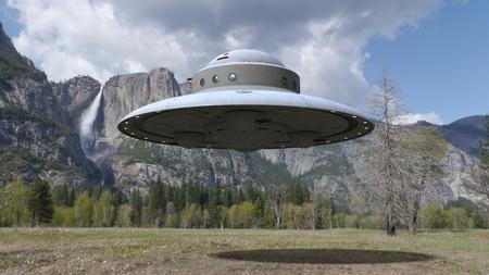 UFO Standard-Bild