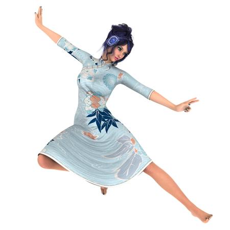 fu: Kung fu girl