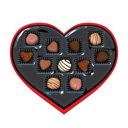st valentin: chocolate