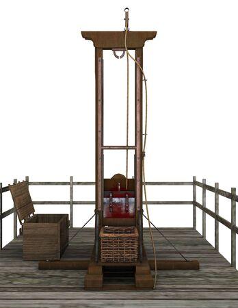 guillotine: guillotine Stock Photo
