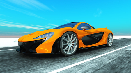 sports car 版權商用圖片