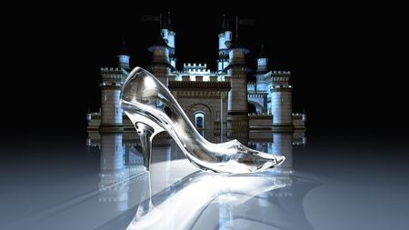 Cinderella castle Stockfoto