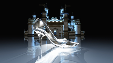 Cinderella castle Standard-Bild