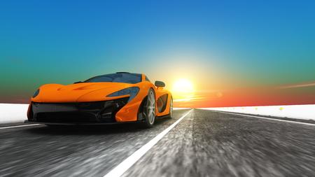 sports car Фото со стока