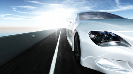 sports car Banco de Imagens