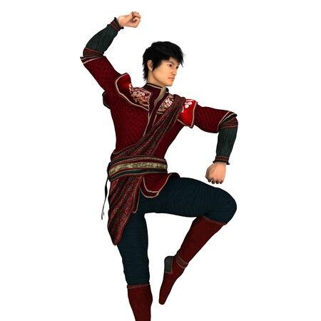 fu: kung fu master Stock Photo