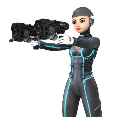 mujer soldado: female soldier