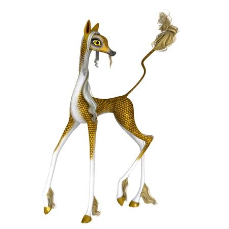 animal origin: Chinese giraffe