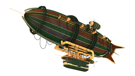 airship Reklamní fotografie