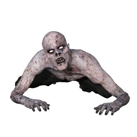 horror background: zombie