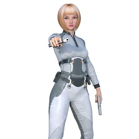 female soldier: female soldier