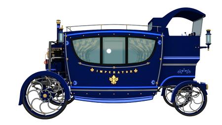 loco: steam automobile