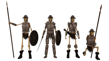 soldiers: skeleton soldiers