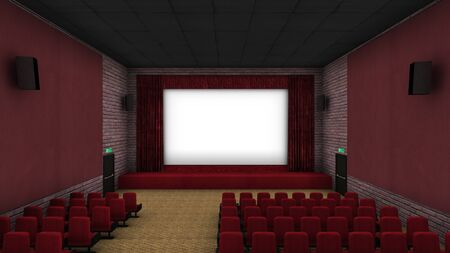 unoccupied: 3d theater