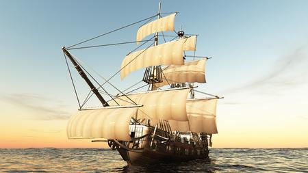 bateau à voile Banque d'images