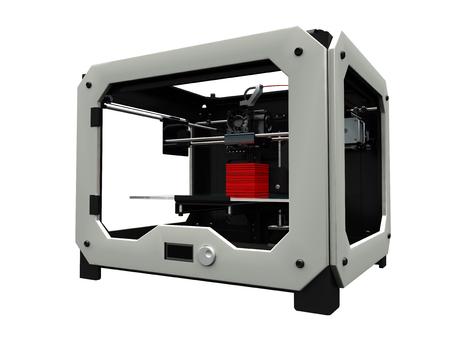 3d cg: 3D printer