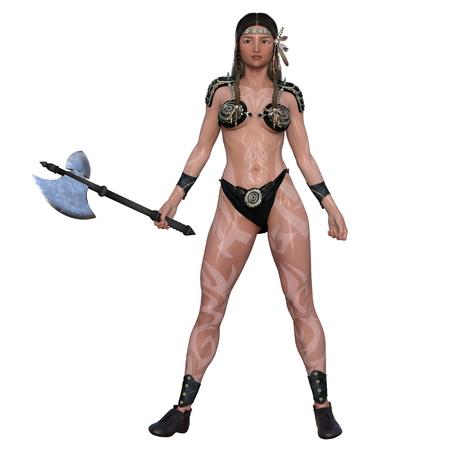 female warrior: female warrior
