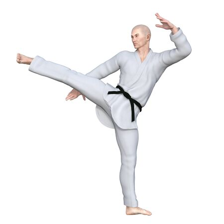 dojo: Karate player