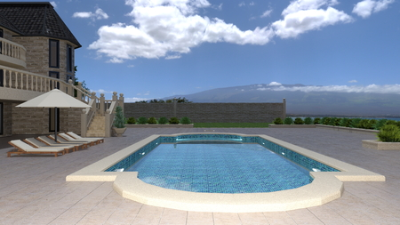 gorgeousness: swimming pool