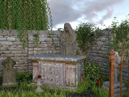 madonna: Sculpture of the Madonna
