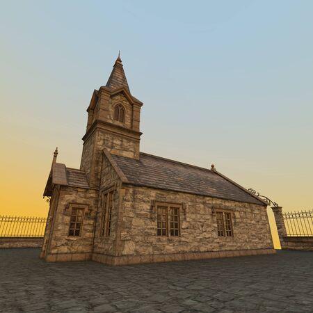the church: Iglesia Foto de archivo