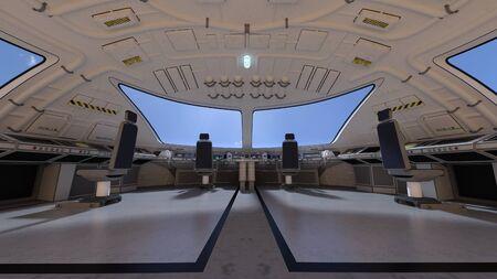 computer control: control room