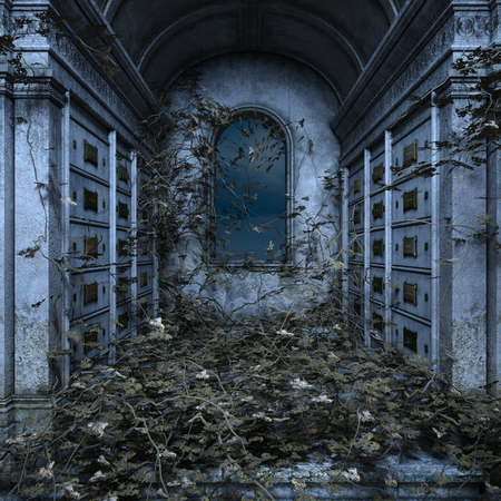 墓ジョスハウス 写真素材
