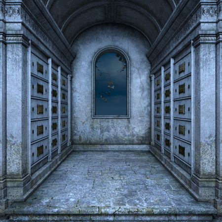 joss: grave joss house Stock Photo