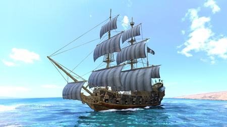 voyage: sailing boat