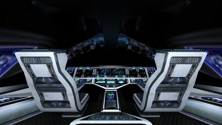 raumschiff: Cockpit