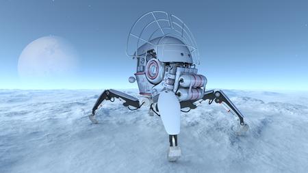 space probe Stock Photo