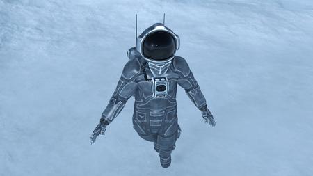 zero gravity: astronaut