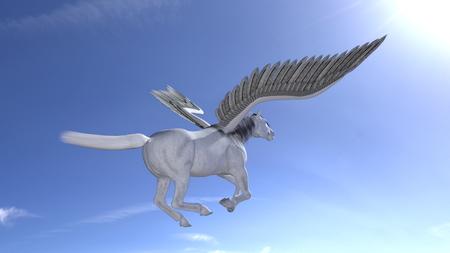 Pegasus Banque d'images - 44863555
